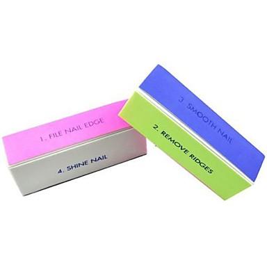 Nail Art Dateien und Puffer Nagel-Kunst-Werkzeug Buffer Block Nagel Kunst Maniküre Pediküre Schmirgel / Kunststoff Klassisch Alltag / Nagelfeilen