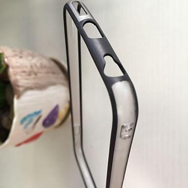 TPU bumper met duidelijke achterkant van de behuizing voor de iPhone 6