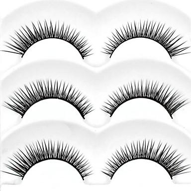 Augenwimpern Make-up Utensilien Falsche Wimpern Voluminisierung Dick Faser Alltag Dick Natürlich lang - Bilden Alltag Make-up Kosmetikum Pflegezubehör