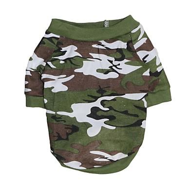eine große gog kühlen Tarnmuster aus 100% Baumwolle T-Shirt für Hunde (verschiedene Größen)