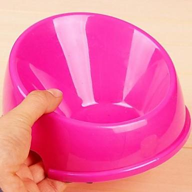 Runde Kunststoffbehälter für Hunde (klein)