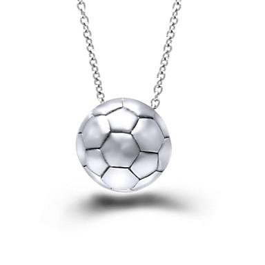 die neueste Fußball-WM foever Fußball Edelstahl pandent Halskette