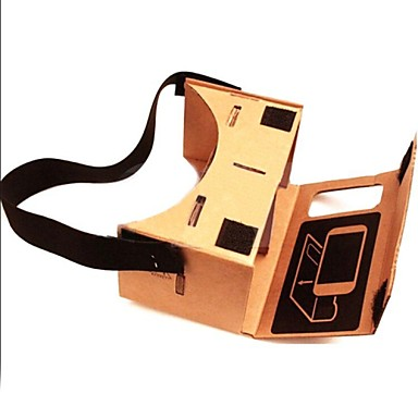 DIY Google Cardboard Virtual reality VR Mobile Phone 3D Glasses with NFC Tag for 4-4.5