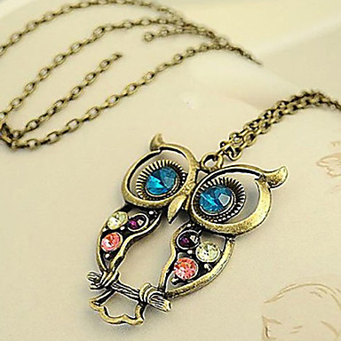 Women's Zircon Pendant Necklace Vintage Necklace - Fashion Brown Necklace For Daily