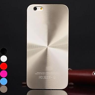 df® hélice cor sólida escovado tampa da caixa de alumínio para iPhone 4 / 4S (cores sortidas)