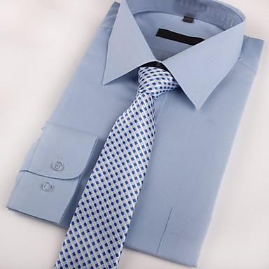 economico Abbigliamento uomo-Per uomo Da serata / Da ufficio Cravatta A quadri