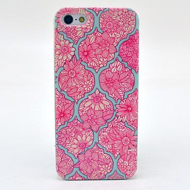 μάνταλα λουλούδι μοτίβο σκληρό περίπτωση κάλυψη για το iphone 5γ