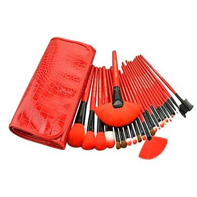 24pcs Makeup Brushes Professional Makeup Brush Set Nylon / Nylon Brush / Other Brush Big Brush / Classic / Middle Brush