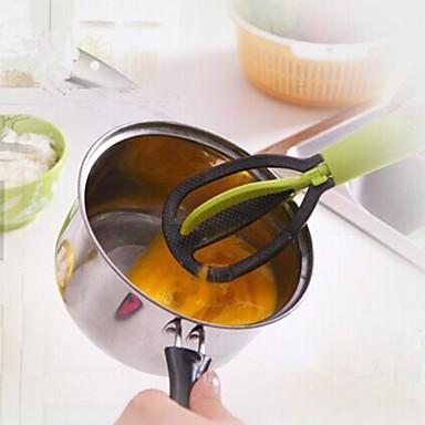 multifunctionele keuken tool garde en lepel (willekeurige kleur)