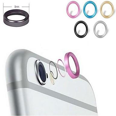 metalen telefoon lens protector voor iPhone 6 plus (verschillende kleuren)