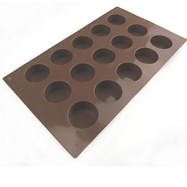 Ciocolatiu Biscuiți Tort Pâine Silicon Calitate superioară coacere Mold Materiale pentru torturi