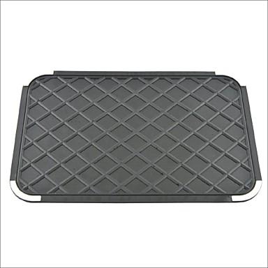 Otomatik arabanın gösterge paneli silikon jel kaymaz ped mat siyah
