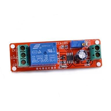 Navo atraso de tempo NE555 bordo do módulo de chave monostable - vermelho
