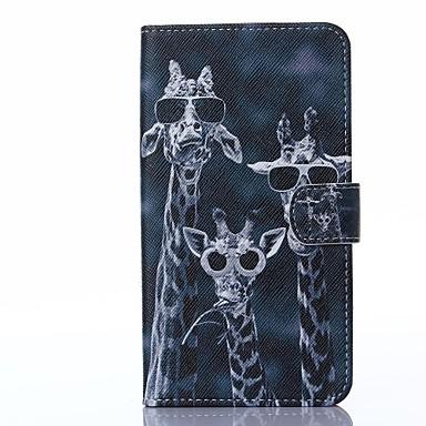 Pentru Carcasă LG Carcase Huse Titluar Card Portofel Cu Stand Întoarce Corp Plin Maska Animal Greu PU piele pentru LG LG G3