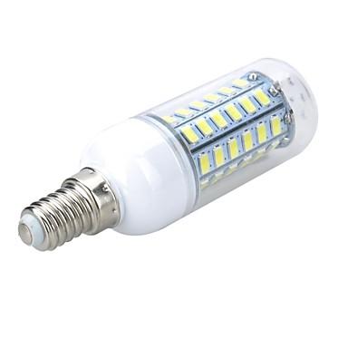 5W 500-600 lm E14 LED Mısır Işıklar T 56 led SMD 5730 Sıcak Beyaz Serin Beyaz AC 220-240V