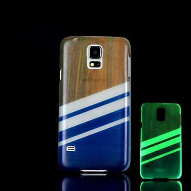 aztec patroon glow in the dark harde case voor Samsung Galaxy S5 i9600
