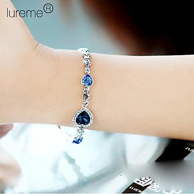 Damen Kristall Mehrschichtig Bettelarmbänder - Mehrlagig Armbänder Königsblau Für Party Alltag Normal