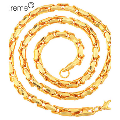 Lureme®0.5cm Men's Alloy Necklace