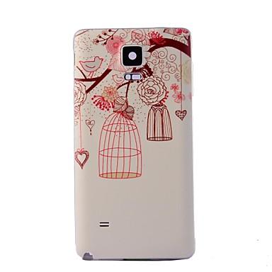 Pentru Samsung Galaxy Note Model Maska Carcasă Spate Maska Copac PC Samsung Note 4