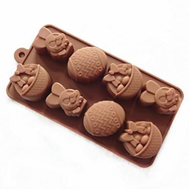 Nieuwigheid Ijs Chocolade Koekje Cake Brood Siliconen Cake Moulds