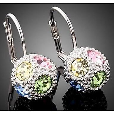 Γυναικεία Κρεμαστά Σκουλαρίκια Κρύσταλλο Κοσμήματα Γάμου Πάρτι Καθημερινά Causal