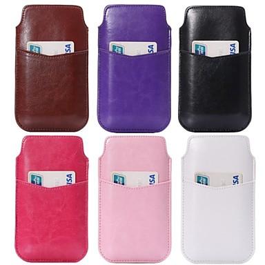 linhas loucas colaterais óleo cavalo fora do cartão bolsa para o iPhone 6 / 6s (cores sortidas)