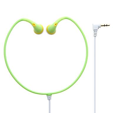 billige Høretelefoner (nakkebøjle)-YD-108 EARBUD Ledning Hovedtelefoner Plast Mobiltelefon øretelefon Headset