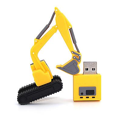 excavator 8GB USB 2.0 Flash Pen Drive