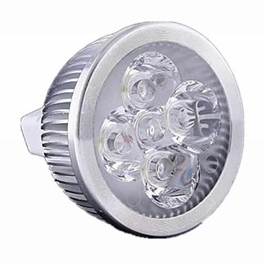 breung 1 buc 5w mr16 lumina luminoasă cu LED-uri dimmable dc12v lumină albă / lumină albă caldă