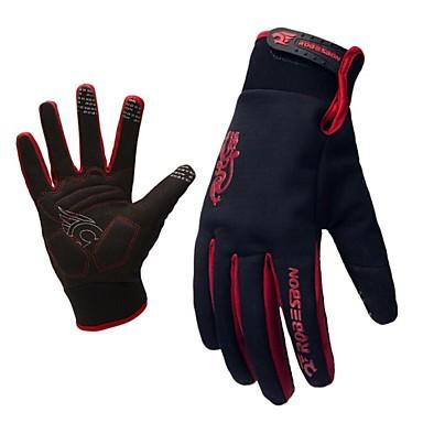 WEST BIKING® Γάντια για Δραστηριότητες/ Αθλήματα Γάντια ποδηλασίας Διατηρείτε Ζεστό Αδιάβροχη Αντιανεμικό Αναπνέει Ανθεκτικό στη φθορά