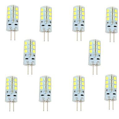 2.5W G4 LED Φώτα με 2 pin 24 LEDs SMD 2835 Θερμό Λευκό Ψυχρό Λευκό 200-250lm 6000-6500K DC 12V
