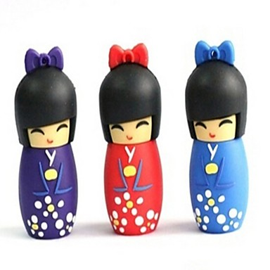 16gb Artoon de Japanse pop 2.0 flash drive pen drive