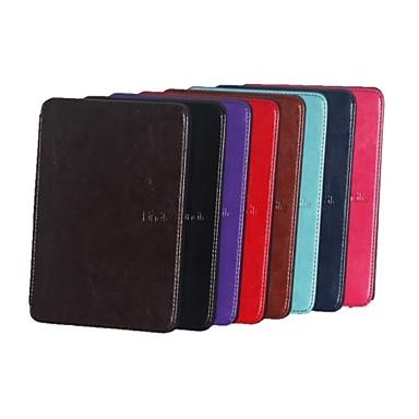 Capinha Para Amazon Kindle Capa de Corpo Inteiro Capa Proteção Completa Côr Sólida camuflagem Rígida PU Leather para