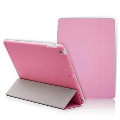 Coque Pour iPad 4/3/2 Couleur Pleine Folio Case Nouveauté faux cuir pour