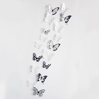 Dieren 3D Wall Stickers Vliegtuig Muurstickers 3D Muurstickers Decoratieve Muurstickers,Vinyl Materiaal Verwijderbaar Huisdecoratie