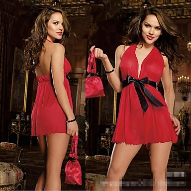 Uniformen Cosplay Kostüme Damen Fest / Feiertage Halloween Kostüme Rot / Blau Sexy Uniformen