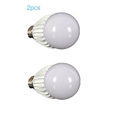 E26/E27 LED-bollampen G60 1 leds COB Dimbaar Warm wit 900-1000lm 3000-3500K AC 110-130V