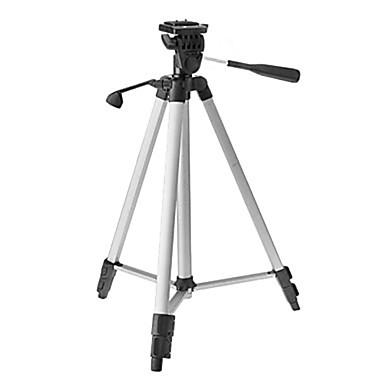 ismartdigi ir-340-SL 3-τμήμα κάμερα τρίποδο (ασημί + μαύρο)