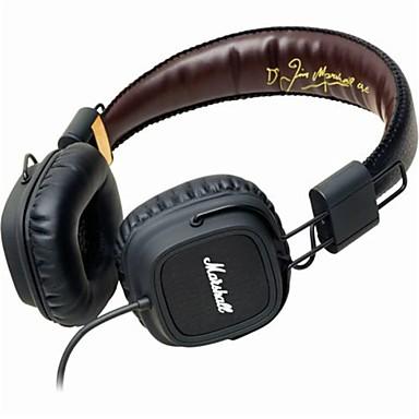 MARSHALL MAJOR Στο αυτί / Κεφαλόδεσμος Ενσύρματη Ακουστικά Κεφαλής Δυναμικός Πλαστική ύλη Κινητό Τηλέφωνο Ακουστικά Με Έλεγχος έντασης
