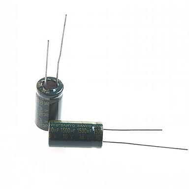 capacitor eletrolítico 1500uf 16v (10pcs)