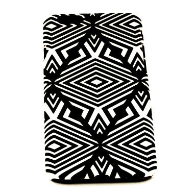 moda padrão losango preto TPU capa mole para iphone 6 caso 4,7 polegadas