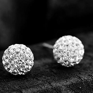Oorbel Sieraden Bruiloft / Feest / Dagelijks Sterling zilver / Strass Zilver