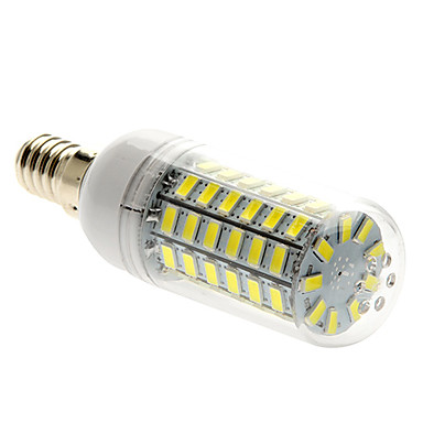 5W 450 lm E14 LED Mısır Işıklar T 69 led SMD 5730 Doğal Beyaz AC 220-240V