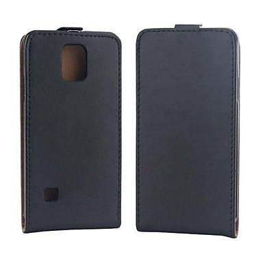 Για Samsung Galaxy Note Ανοιγόμενη tok Πλήρης κάλυψη tok Μονόχρωμη Συνθετικό δέρμα Samsung Note 4