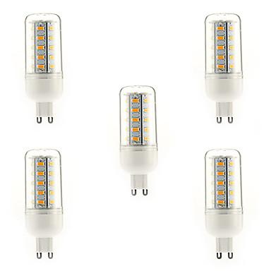 700 lm E14 G9 E26/E27 LED-maïslampen T 36 leds SMD 5730 Warm wit Koel wit Natuurlijk wit AC 220-240V