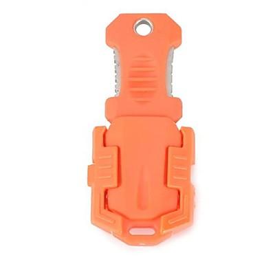 kever stijl outdoor draagbare survival mes met riem - oranje