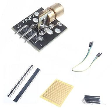 diy 650nm lazer sensör modülü ve arduino için aksesuarlar