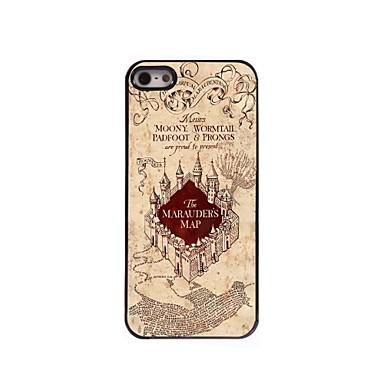Para Capinha iPhone 5 Case Tampa Estampada Capa Traseira Capinha Cenário Rígida PC para iPhone SE/5s iPhone 5