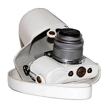 Χαμηλού Κόστους Θήκες, τσάντες και λουράκια-dengpin® pu δέρμα κάμερα τσάντα υπόθεση κάλυψη για Olympus PEN E-pL7 epl7 με 17 χιλιοστά ή 14-42mm φακό
