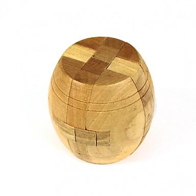 Holzfass Puzzle Entriegelung Spiel Spielzeug